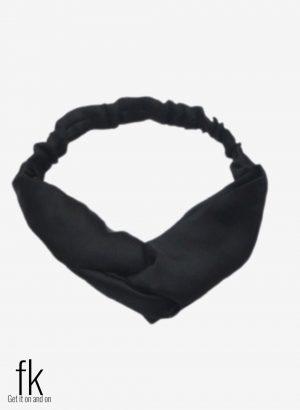 Black Silk Headband