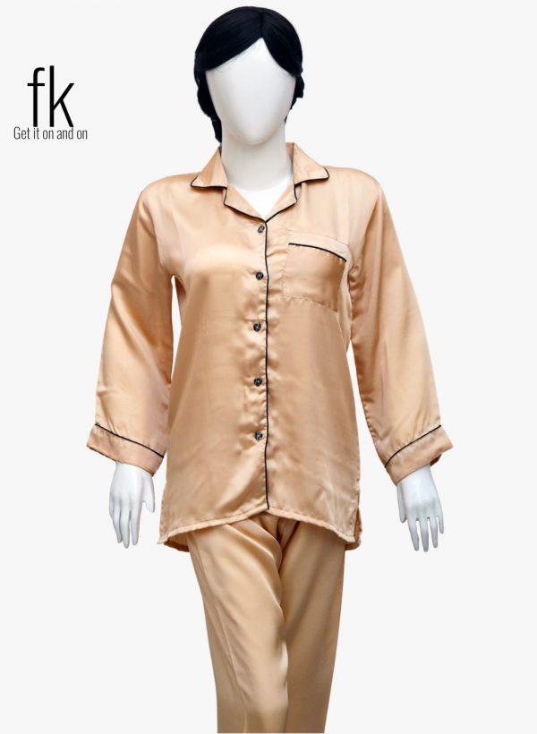 Golden Silk Elegant Nightwear to make you feel more special