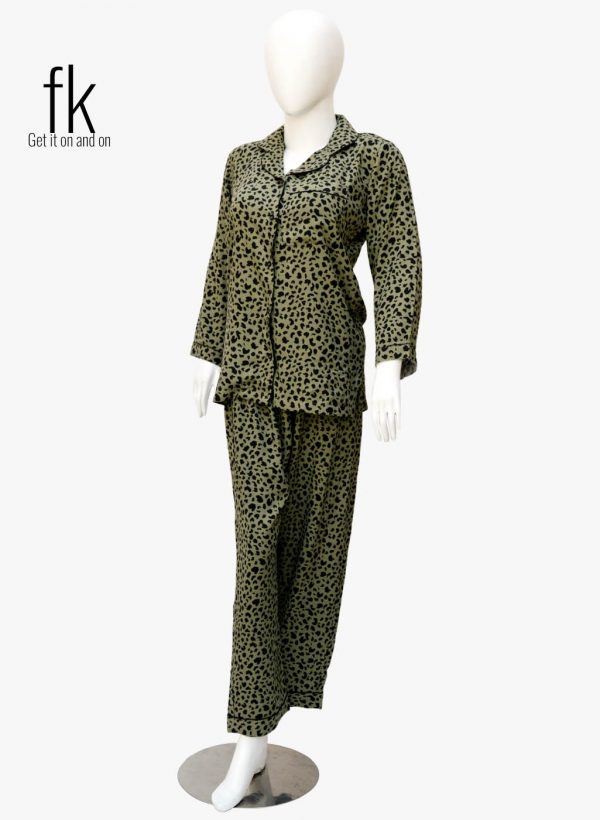 Cheetah Print in Classy design with Knot Style for your Elegance