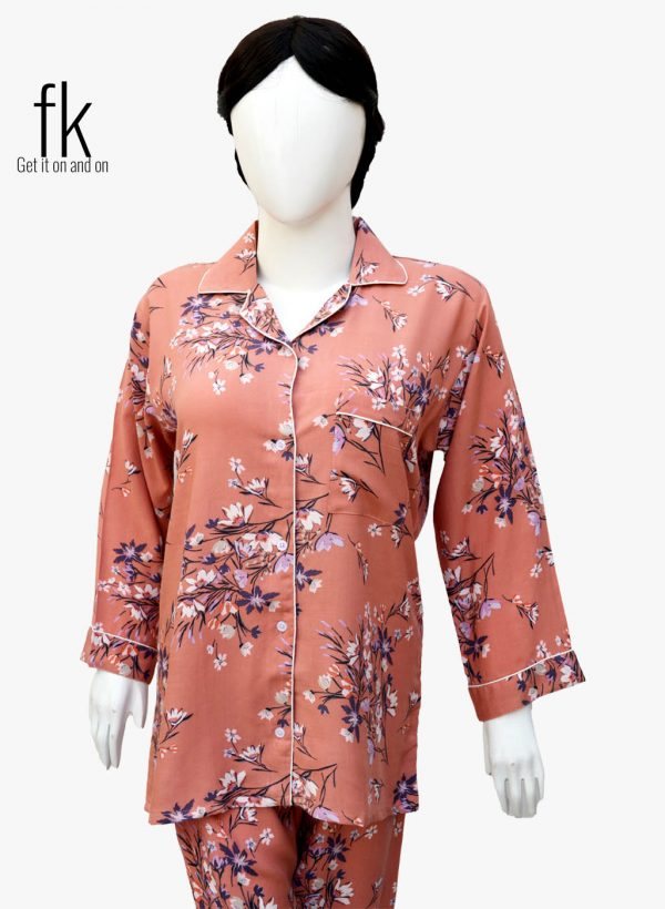 Pink Flowerly Design to make you feel comfort all day and night