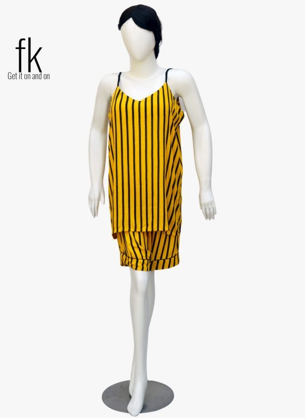 Yellow linning Classy Camisole