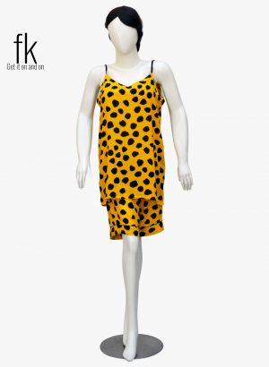 Yellow Polka Dots Classy Camisole