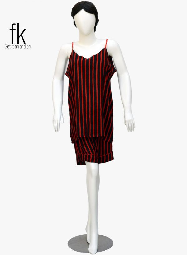 Red Linning Classy Camisole