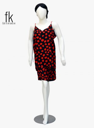 Red Polka Dots Classy Camisole